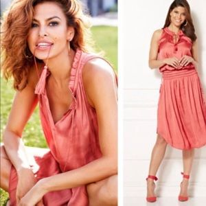 Eva Mendes Silky Dress NWT